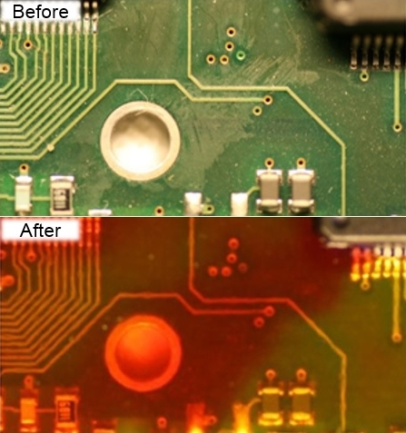 The Residues Rat Before and After