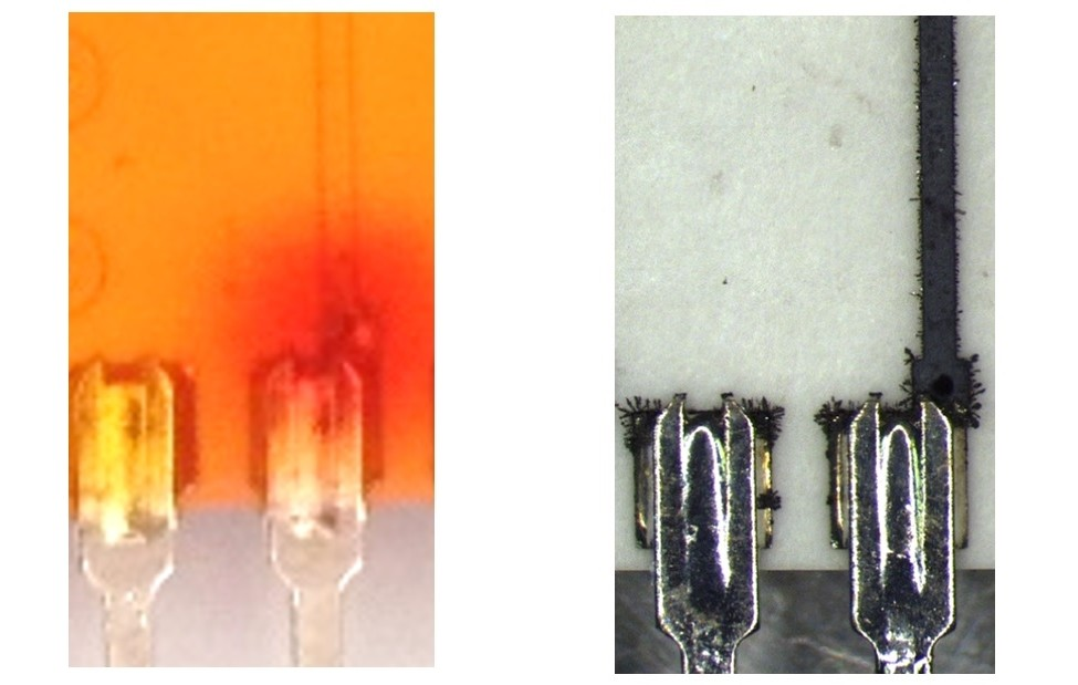 Flux residues can accelerate gaseous corrosion of electronics